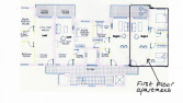 Apartment plan North Cyprus