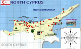 North Cyprus Location Map